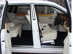 Rolls Royce Phantom Hire Interior